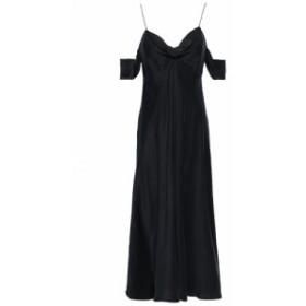 ジマーマン ZIMMERMANN レディース ワンピース ワンピース・ドレス Cold-shoulder washed-silk midi dress Black