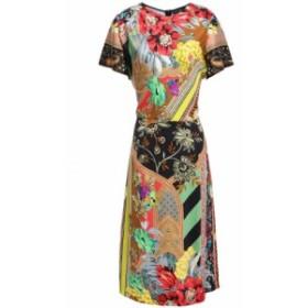 エトロ ETRO レディース ワンピース ワンピース・ドレス Printed satin-crepe dress Multicolor