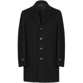 《期間限定セール開催中!》PALT メンズ コート ブラック 48 バージンウール 90% / カシミヤ 10%