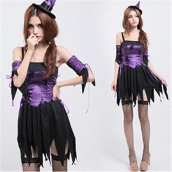 ハロウィン 吸血鬼 魔女 悪魔 Halloween ハロウィン ヴァンパイア コスプレ レディース コスチューム 大人 仮装 ハロウィーン 衣装仮装