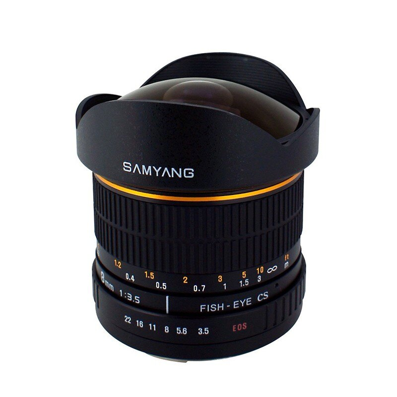 Samyang鏡頭專賣店:8mm/F3.5 Fisheye for Nikon AIS(魚眼 D80 D901 D600 D700 D800 D3 D4)(保固二個月)