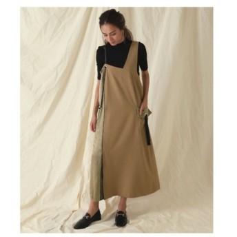 ANAP(アナップ)【Alluge】合皮ベルトジャンパースカート