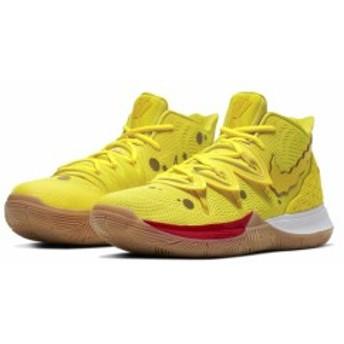 """ナイキ メンズ カイリー5 スポンジボブ Nike Kyrie 5 IV バッシュ Spongebob """"Squarepants"""" Opti Yellow/Opti Yellow 高額レア"""