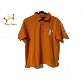 キャプテンサンタ CAPTAIN SANTA 半袖ポロシャツ サイズS メンズ オレンジ 新着 20190823