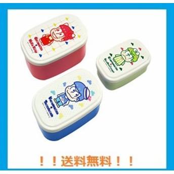 オーエスケー おそ松さん x Sanrio Characters シール容器 3Pセット レッド(おそ松 x ハローキティ、カラ松 x タキシードサム
