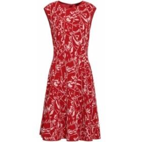 ミッソーニ MISSONI レディース ワンピース ワンピース・ドレス Flared jacquard-knit dress Red