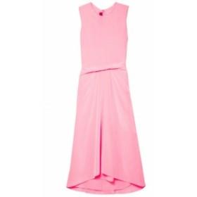 シエス マルジャン SIES MARJAN レディース ワンピース ワンピース・ドレス Lottie Pick Up silk crepe de chine midi dress Bubblegum