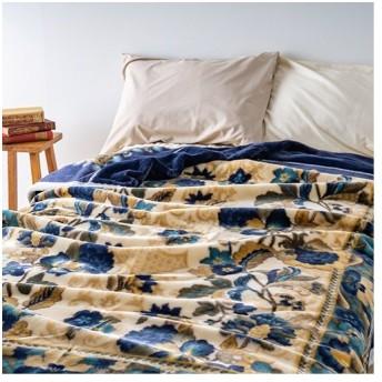 全品P5倍★西川アクリルニューマイヤー毛布 毛羽部分アクリル100% シングル 軽量毛布