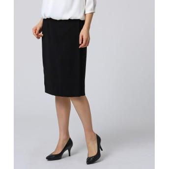UNTITLED アンタイトル ストレッチ ラップ風スカート