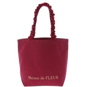 [マルイ] 帆布フリルハンドルトートMバッグ/メゾン ド フルール(Maison de FLEUR)