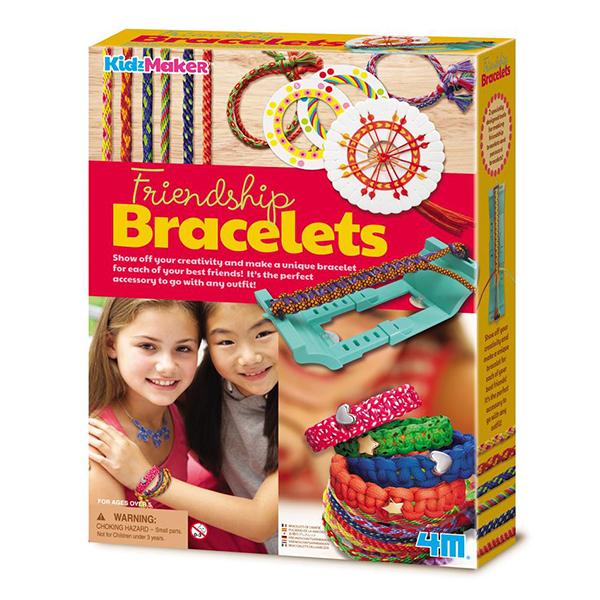 【4M】04728 美勞創作系列-編織友誼手環 Friendship Bracelets