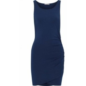 タート TART COLLECTIONS レディース ワンピース ワンピース・ドレス Genelise wrap-effect stretch-modal mini dress Cobalt blue