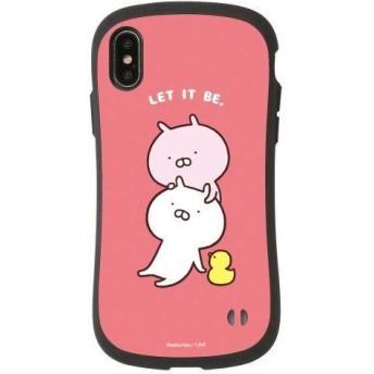iPhoneXS/X専用 iFace(アイフェイス) うさまる Let it Be