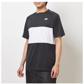 [マルイ] ラケットスポーツ カラーブロックTシャツ/ニューバランス(スポーツオーソリティ)(newbalance)