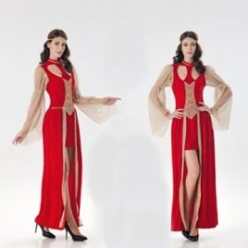 ギリシャの女神コスプレ エジプトの皇后中世紀ヨーロッパ風プリンセスハロウィン セクシーコスチュームレディースイベント衣装舞台衣装