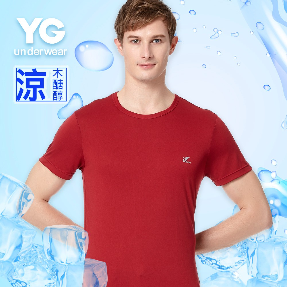 【YG】頂級透涼木醣醇圓領短袖S1630YP
