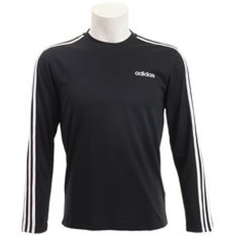 【Super Sports XEBIO & mall店:トップス】D2M 3ストライプスロングスリーブTシャツ GER64-EI5647