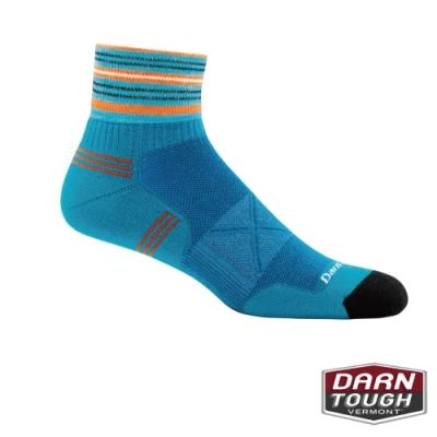 【美國DARN TOUGH】男羊毛襪VERTEX 1/4 跑步襪(2入隨機)
