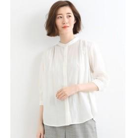 NIMES / ニーム ドビーストライプスタンドシャツ