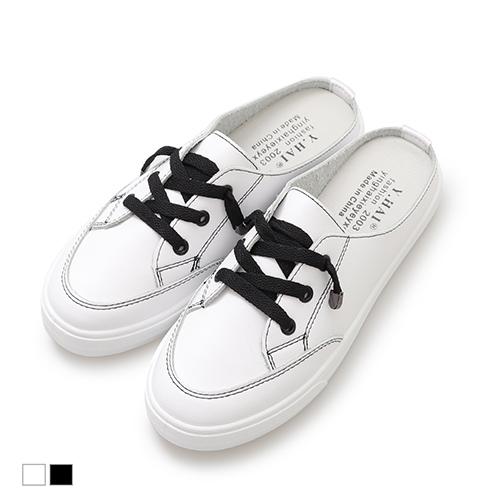 穆勒鞋.韓式時尚厚底休閒鞋