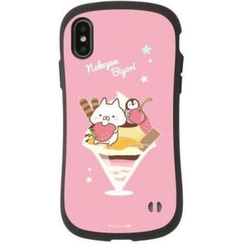 iPhoneXS/X専用 iFace(アイフェイス) ねこぺん日和