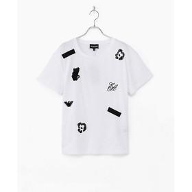 【SALE(伊勢丹)】【送料無料】<エンポリオ アルマーニ/EMPORIO ARMANI> 大きいサイズ Tシャツ シロ(0100)【三越・伊勢丹/公式】