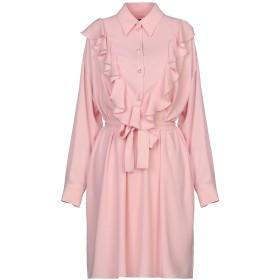 《セール開催中》BOUTIQUE MOSCHINO レディース ミニワンピース&ドレス ピンク 40 ポリエステル 100%