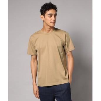 EDIFICE FUNCTIONAL COTTON クルーネック Tシャツ ベージュ S