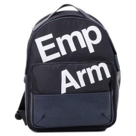 エンポリオ アルマーニ EMPORIO ARMANI ロゴプリント リュック バックパック ネイビー [メンズ] Y4O188 YME0V 87077