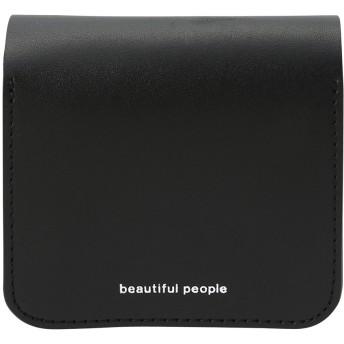 beautiful people ビューティフルピープル ボールチェーンコンパクトウォレット ブラック