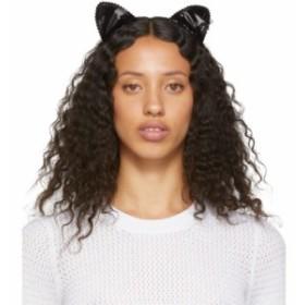 メゾンミッシェル Maison Michel レディース ヘアアクセサリー Black Heidi Cat Headband Black