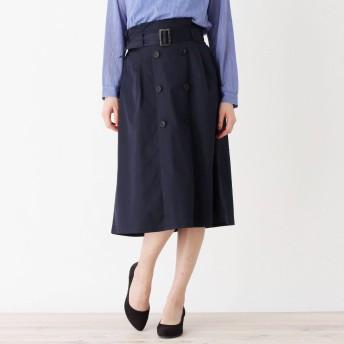 grove グローブ ロングトレンチスカート SOLOTEX(R)