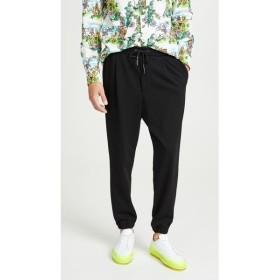 アレキサンダー マックイーン McQ - Alexander McQueen メンズ ジョガーパンツ ボトムス・パンツ Tailored Trackpants 2 Darkest Black