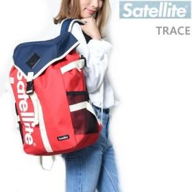 サテライト リュック TRACE NAVY×RED 22L Satellite バックパック バッグ