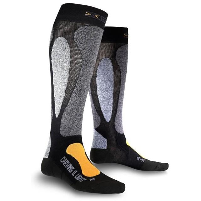 X-SOCKS エックスソックス スキー用 靴下 SKI CARVING ULTRA LIGHT ブラック X0200221 スキー カービング ウルトラライト イタリア製