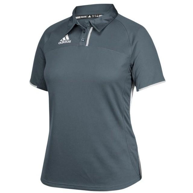 アディダス adidas レディース ポロシャツ トップス team utility polo Onix/White