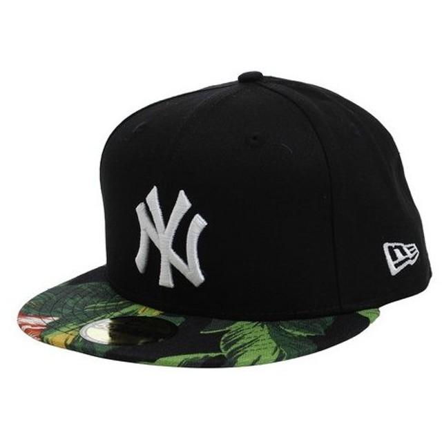 ニューエラ(NEW ERA) 59FIFTY ボタニカル グリーン ニューヨーク・ヤンキース キャップ 11557556 (Men's)