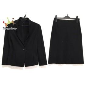 アナイ ANAYI スカートスーツ サイズ38 M レディース 黒 新着 20190824