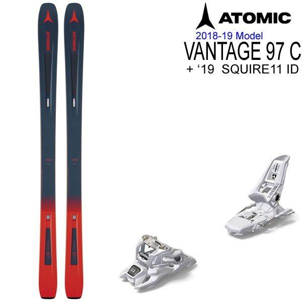 ATOMIC・アトミック スキー 2019 BACKLAND FR117 + 19 マーカー