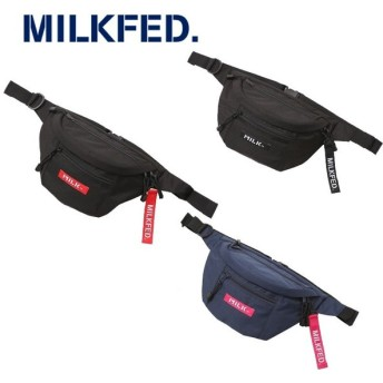 MILKFED. ミルクフェド MINI FANNY PACK LOGO TAG 03182086