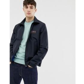 ポールスミス PS Paul Smith メンズ ジャケット アウター lightweight jacket with contrast logo in navy Navy