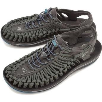 キーン メンズ ユニーク フラット KEEN サンダル 靴 MEN UNEEK FLAT Raven Ink Blue 1014974