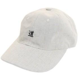 PGAC(PGAC) 道 リネン刺繍キャップ 897PA9ST1710 BEG (Men's)