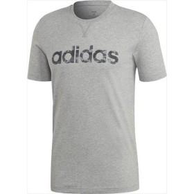 [adidas]アディダス M CORE カモリニアTeeシャツ (GER15)(EI9726) ミディアムグレイヘザー/ブラック/グレーファイブF17/グレースリーF17[取寄商品]