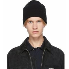 ポールスミス Paul Smith メンズ ニット 帽子 Black Wool Beanie Black/Multicolor