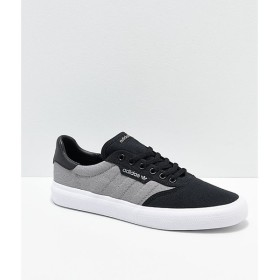 アディダス ADIDAS メンズ シューズ・靴 adidas 3MC Black, Grey & White Shoes Black