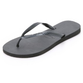 ハワイアナス Havaianas レディース サンダル シューズ・靴 Slim Flip Flops Black