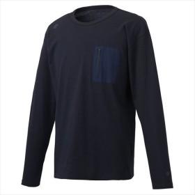 [DESCENTE]デサント 長袖Tシャツ (DMMOJB67Z)(NV) ネイビー[取寄商品]