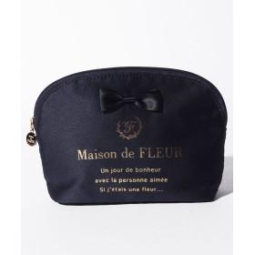 メゾンドフルール ラウンドポーチ レディース ネイビー FREE 【Maison de FLEUR】