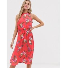 ジェイディーワイ JDY レディース ワンピース ワンピース・ドレス floral high neck midi dress Multi